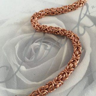 Copper Byzantine Bracelet Petite