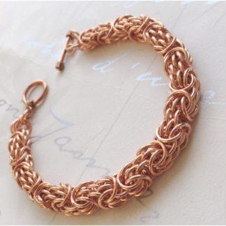 Copper Tryzantine Bracelet