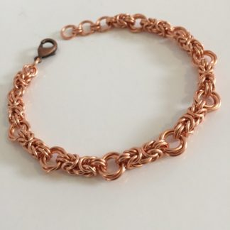 Copper Love Knot Bracelet