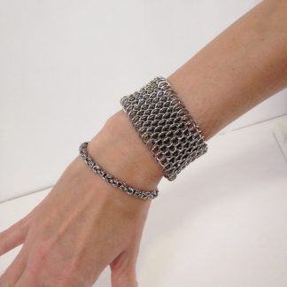 Stainless Steel Dragonscale Bracelet