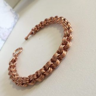 Copper 3 in 3 Chain Bracelet