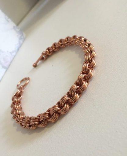 Copper 3 in 3 Chain Bracelet