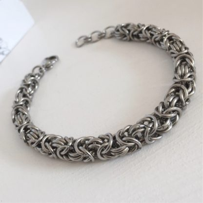 steel byzantine chunky