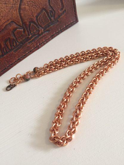 copper jpl necklace