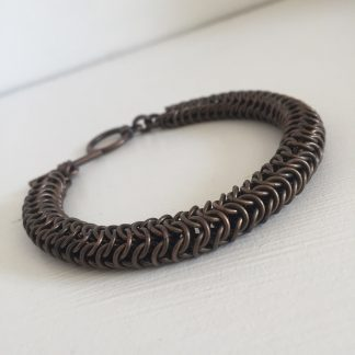 dark copper roundmaille