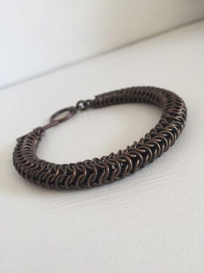 dark copper roundmaille