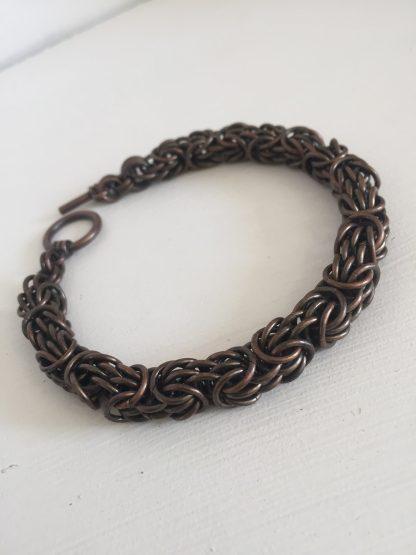 dark copper tryzantine