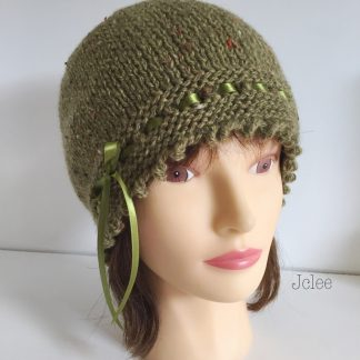 olive green gatsby hat