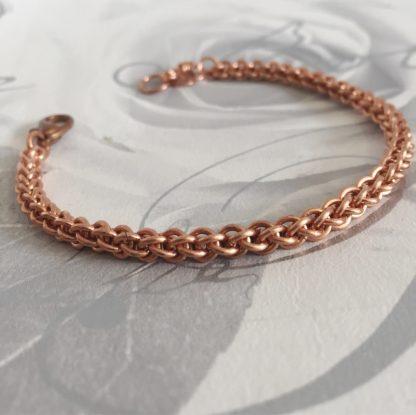 skinny jpl copper bracelet