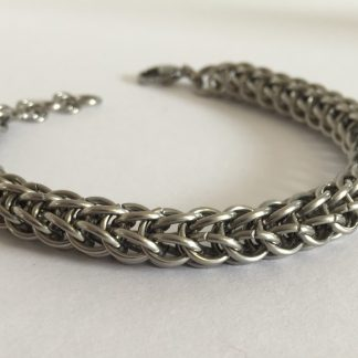 steel full persian bracelet for men