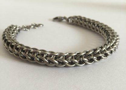 steel full persian bracelet for men