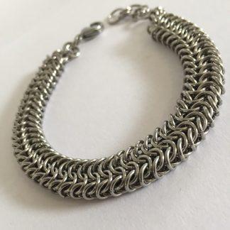 steel roundmaille bracelet