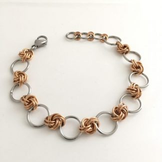 jcleecollection Bronze Infinity Bracelet