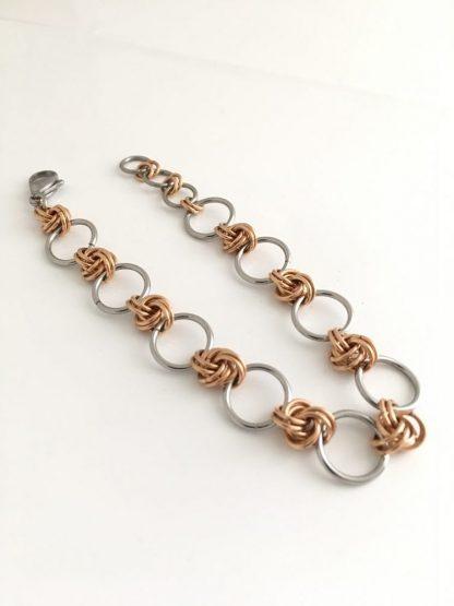 jcleecollection Bronze Infinity Bracelet