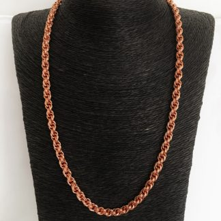 Copper Spiral Necklace - CN04