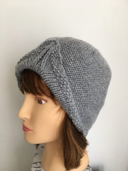 Grey-turban-style-beanie-hat