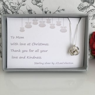 Mom-silver-love-knot-necklace-gift-boxed