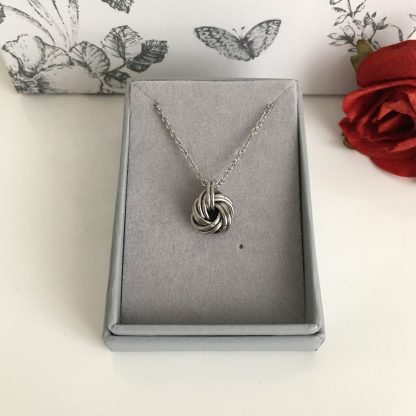 stainless-steel-infinity-love-knot-necklace