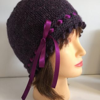 Dark Purple Gatsby Hat
