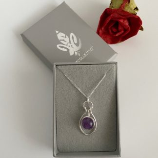 Amethyst-pendant-necklace