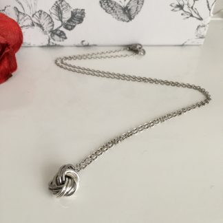 stainless-steel-and-silver-infinity-love-knot-ball-necklace